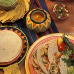 Fajitas di carne e verdure (Messico)