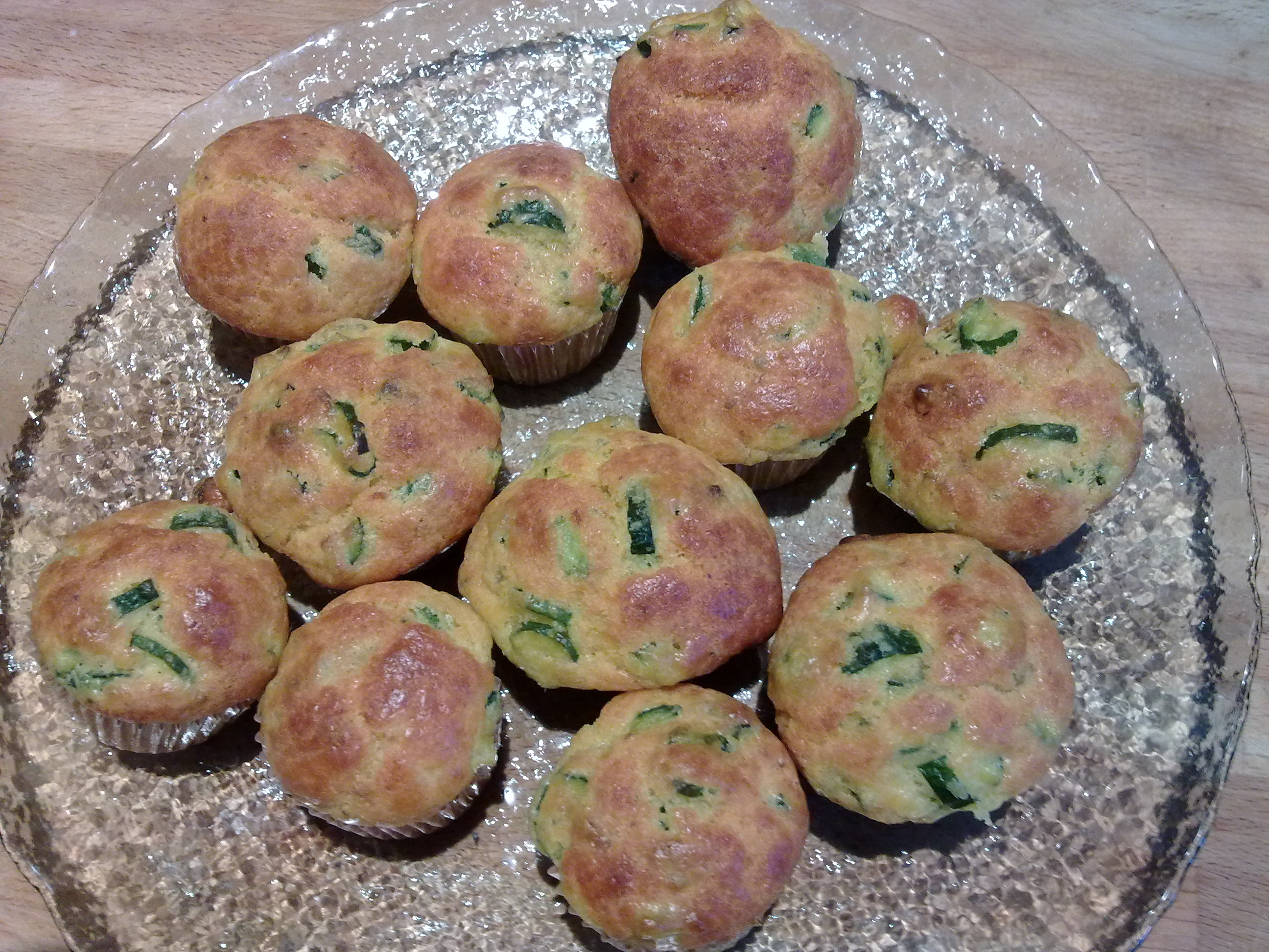 Mini muffin alle zucchine