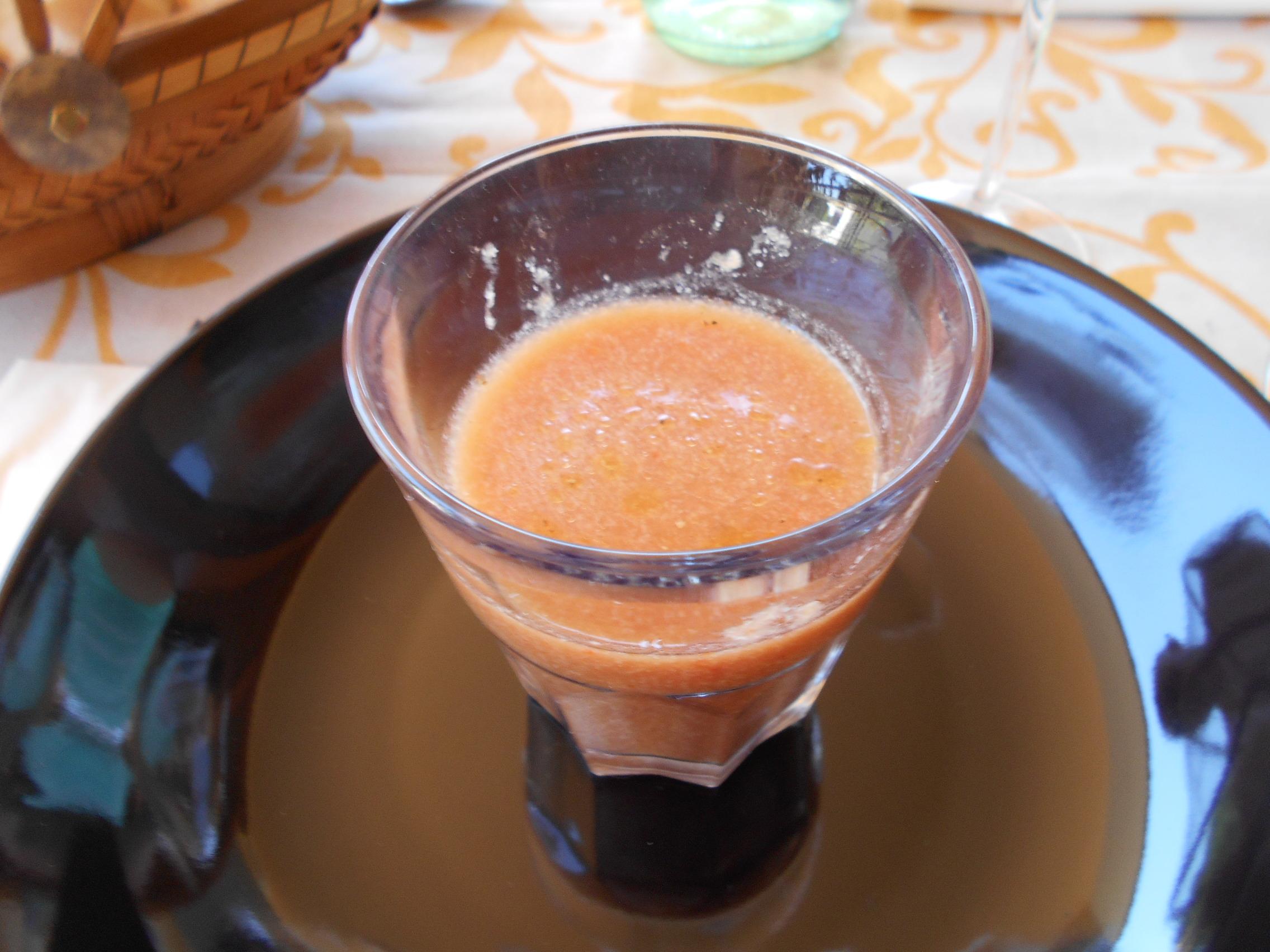 Gazpacho de La Calcinaia