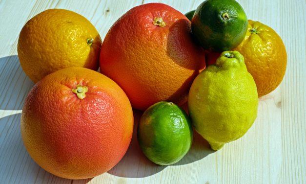 Gli agrumi: un concentrato di vitamine