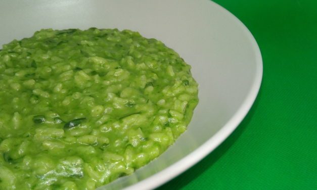 Risotto strigoli e gorgonzola